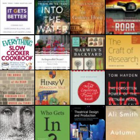 New Books, November